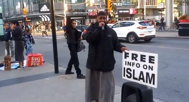 "Haashim Atangana Kamena ""is not a dawah activist of Walk-in islamic Info Center"""
